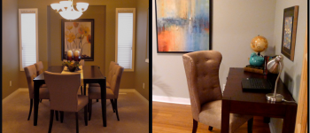 Left to Right: Sophie Chair, Roland Chair